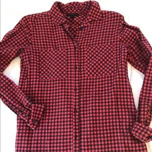 J.Crew Buffalo Check Button Down Shirt